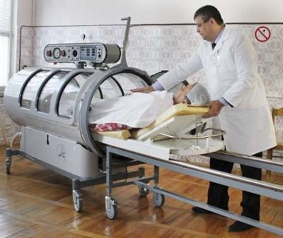 Медицинское оборудование для похудения сжатым воздухом