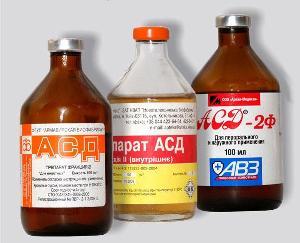 АСД при варикозе - схема лечения по времени приема
