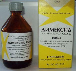 Применение Димексида для лечения пяточной шпоры