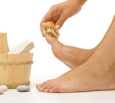 Лечение мозолей на пальцах ног