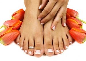 Народные средства при грибке на ногтях ног