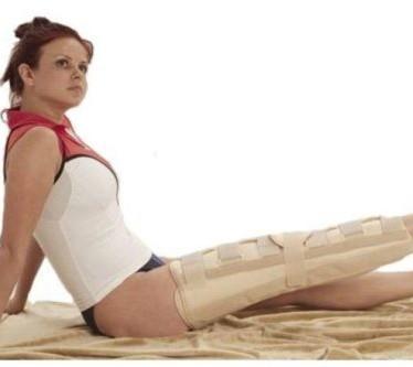 Лангета на коленный сустав — что это, когда применяется